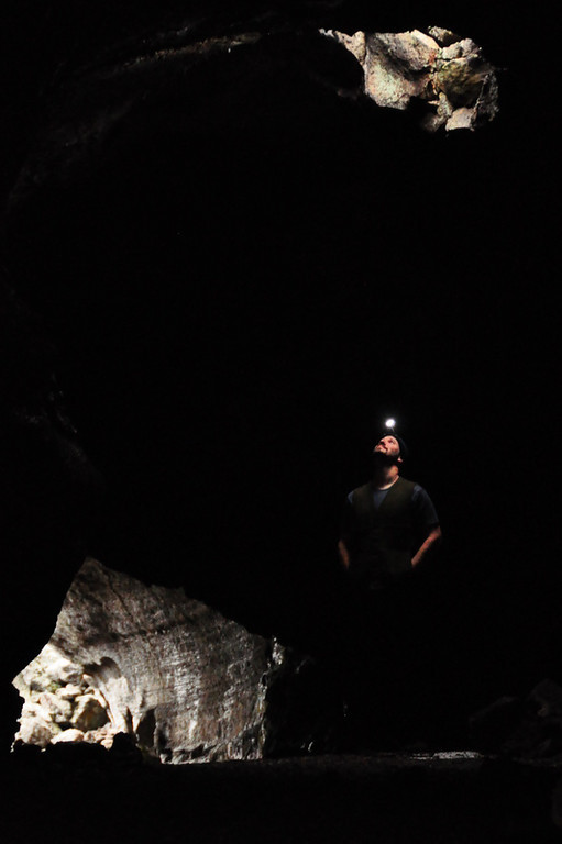 David in Tickner Cave<br /> <br /> I think this is my favorite shot of the trip.