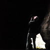 Paige photographs a skylight in Tickner Cave