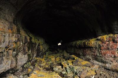 Tickner Cave  Looking in along the Tickner flow.