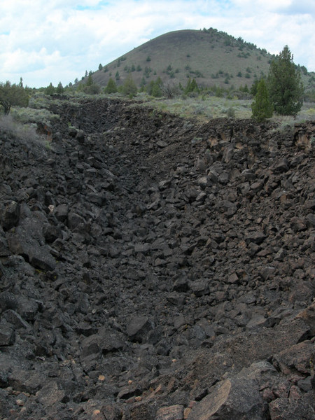 Butte and Collapse Trench