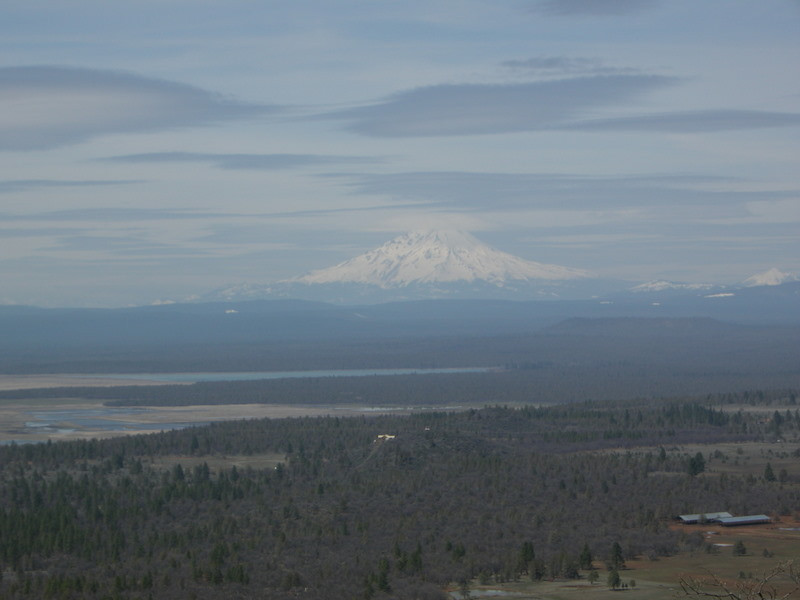 Mt Shasta from the viewpoint