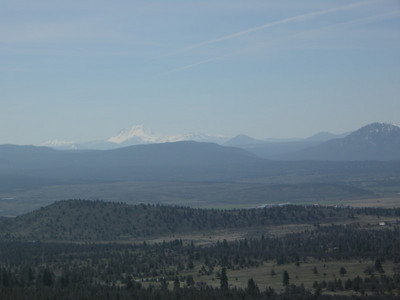 Mt Lassen from the viewpoint