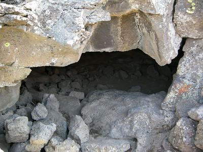 Captain Jack's cave