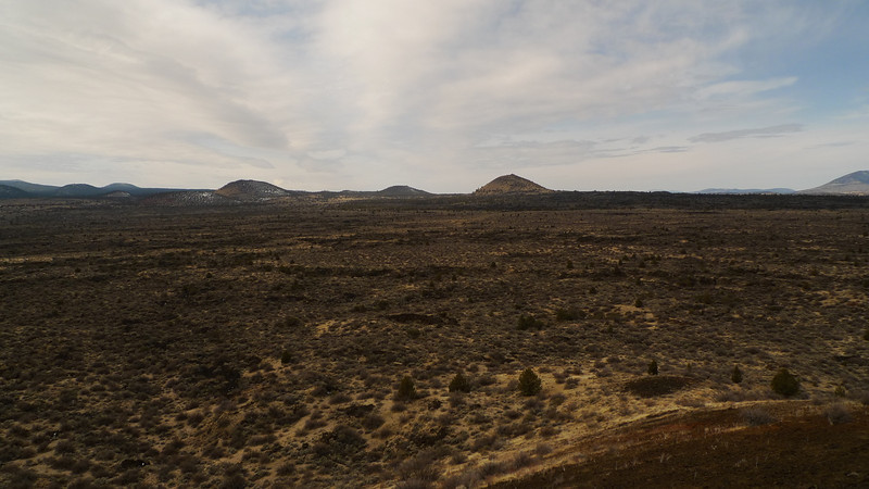 Buttes of Lava Beds