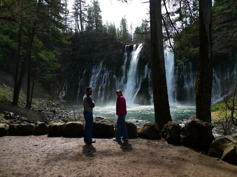 David and Helen at Burney Falls