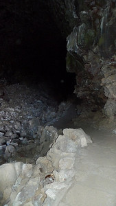 Heading in to Skull Cave