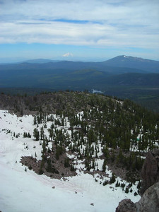 Shasta from the summit