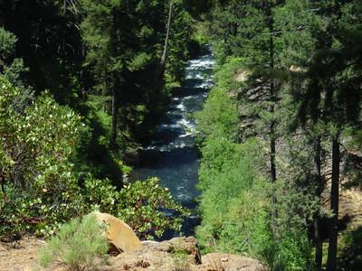 Hat Creek (?) above Burney Falls