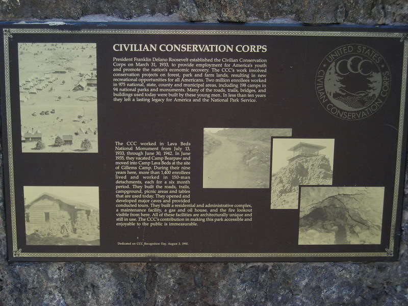 The CCC did a lot of great work at this park.