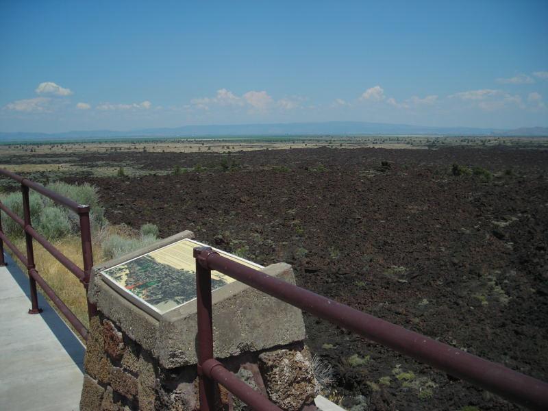 View toward Tule Lake