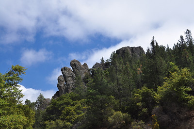 Rock formation along the trail