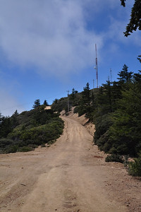Last short steep stretch to the summit