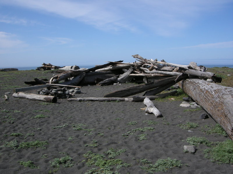 Shelters have been built at many points along the Coast
