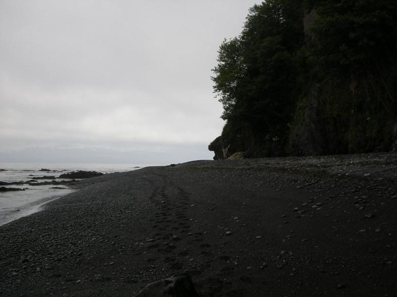 Black Sands beach indeed