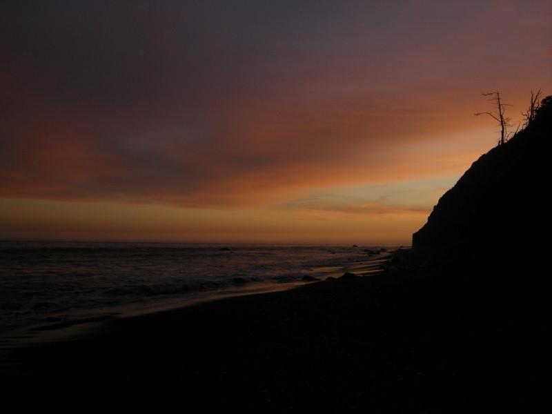 Sunset from Shipman Creek