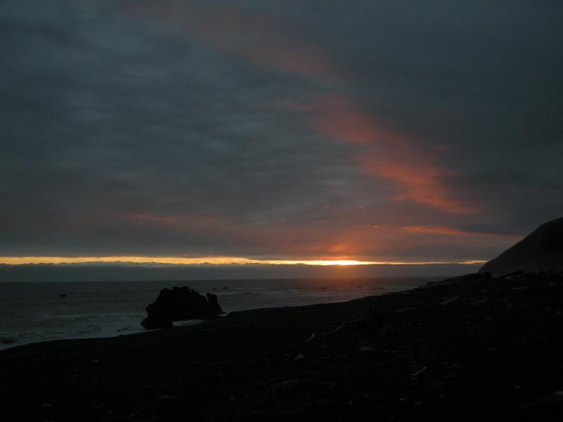 Sunset at Spanish Creek