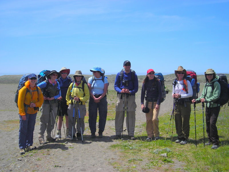 Northern California Hikers<br /> <br /> From L to R: Me, Pavla, Frank, Marcy, Heidi, Peter, Paige, Theresa, Kris