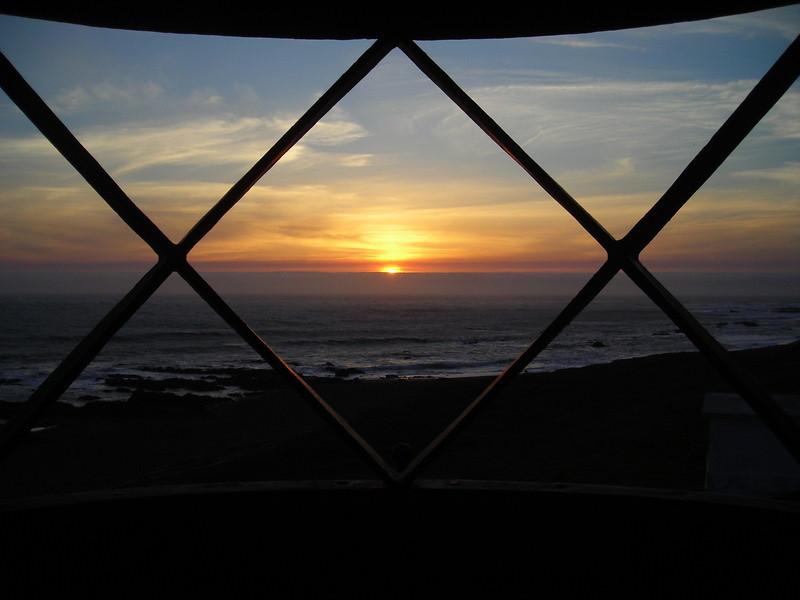 Punta Gorda Lighthouse Sunset