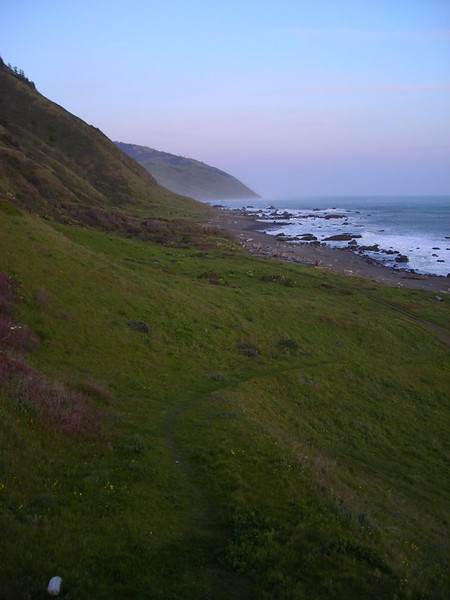 Lost Coast in the evening light