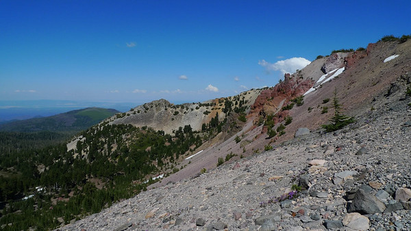 Looking back on Red Cliffs (peaks for another visit)