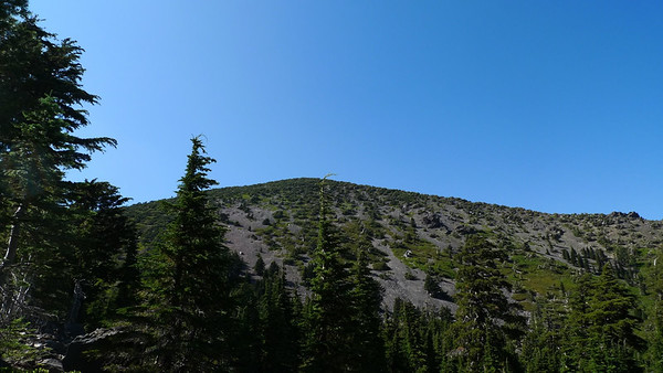 One of my targets: Crater Peak