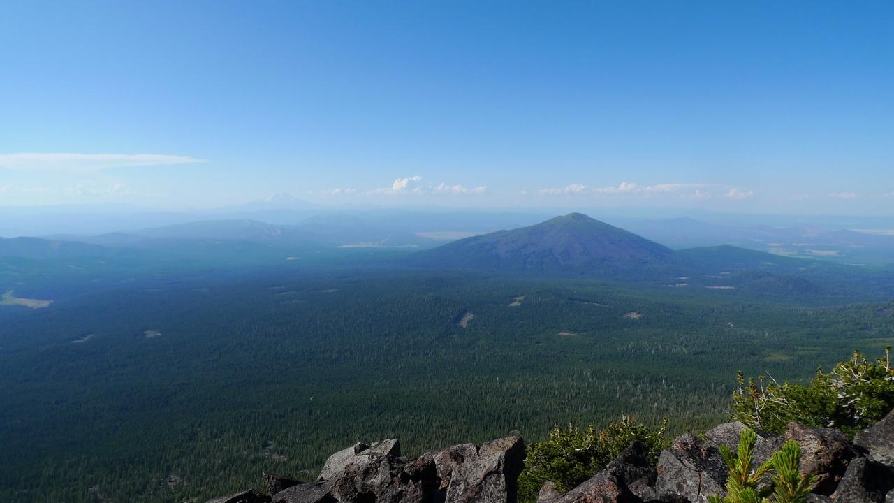 Burney Peak in the distance