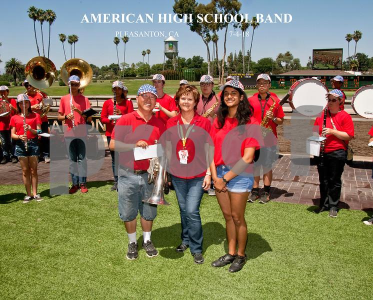 AMERICAN HIGH SCHOOL BAND