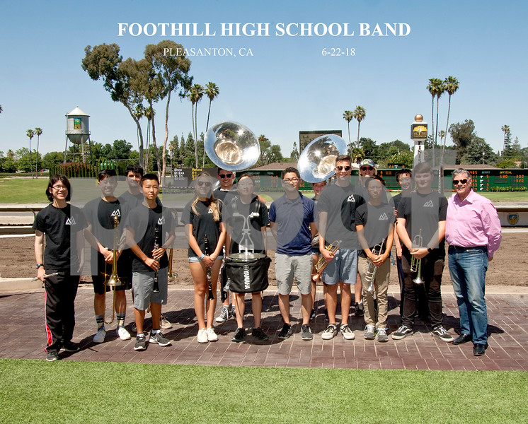 FOOTHILL HIGH SCHOOL BAND