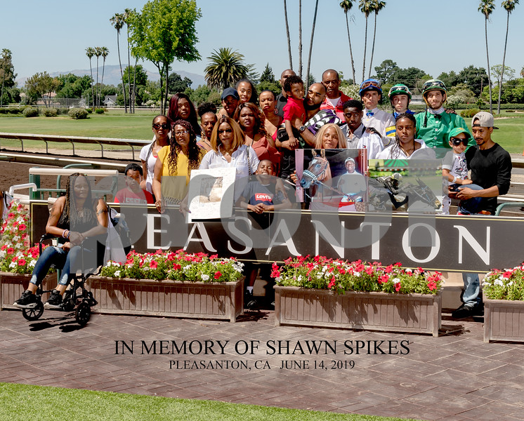 IN MEMORY OF SHAWN SPIKES family