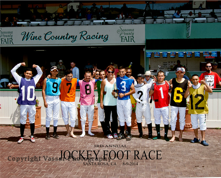 JOCKEY FOOT RACE