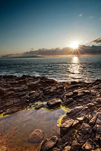 Ramore head sunset