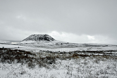 Slemish Mountain, at 437m ASL this is one of the highest mountains in Northern Ireland