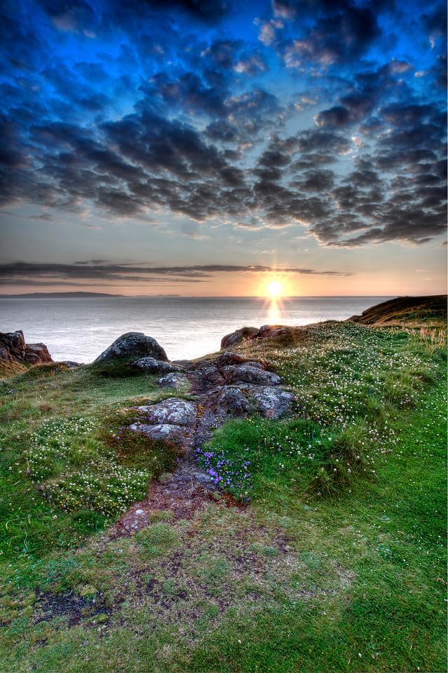 Ramore Head sunset