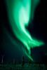 Aurora Borealis on Murphy Dome near Fairbanks, AK.