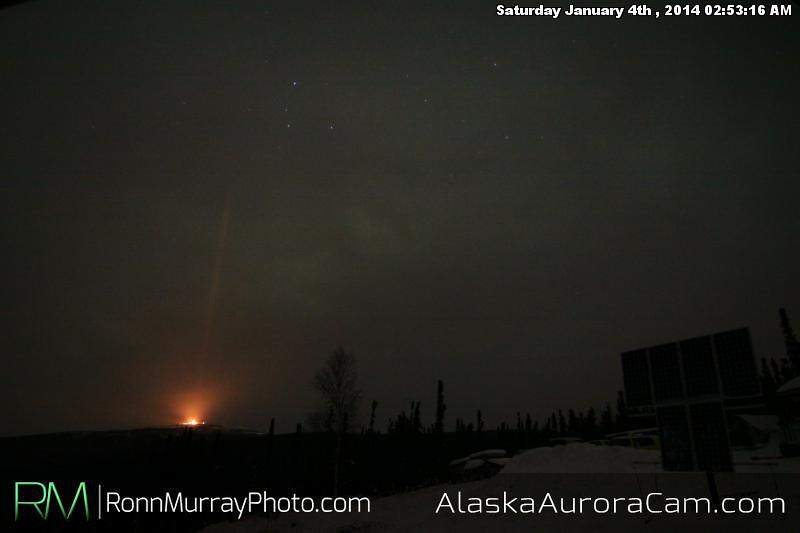 Cloud Covered - Jan 4th, Alaska Aurora Cam