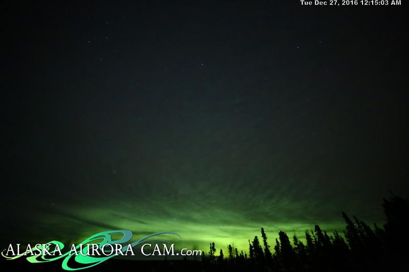 December 26th  - Alaska Aurora Cam