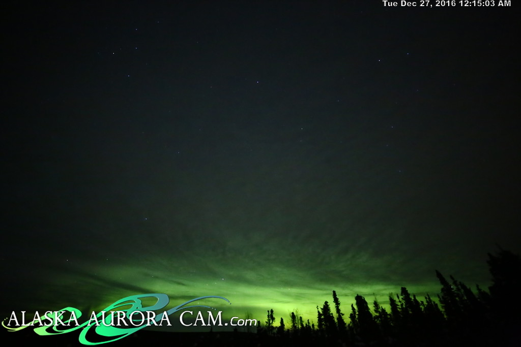 December 26th  - Alaska Aurora Cam