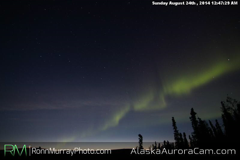 August 23rd - Alaska Aurora Cam