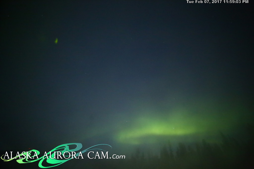 February 7th  - Alaska Aurora Cam