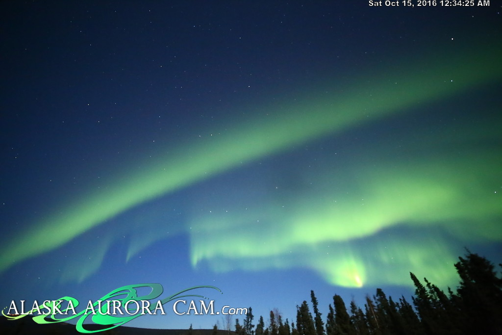October 14th - Alaska Aurora Cam