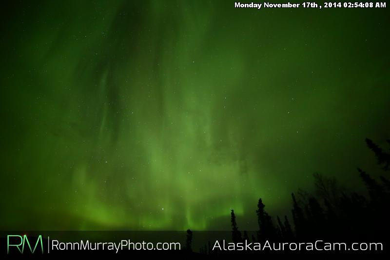 November 16th - Alaska Aurora Cam