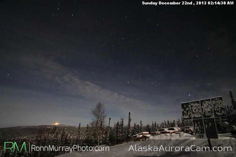 No Dice - Dec 22nd, Alaska Aurora Cam