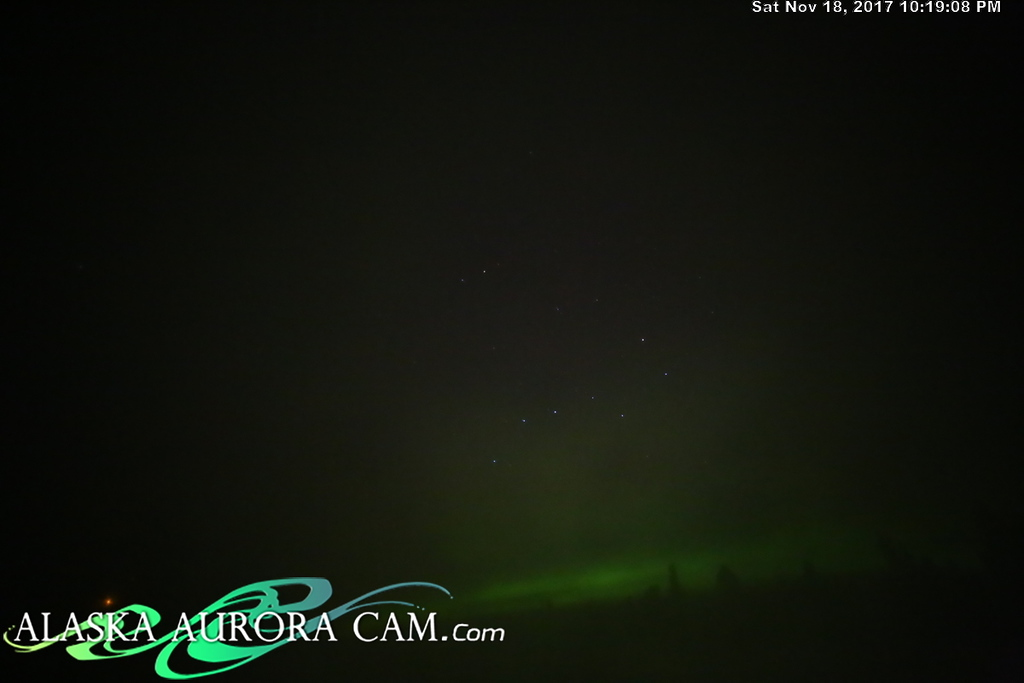 November 18th - Alaska Aurora Cam