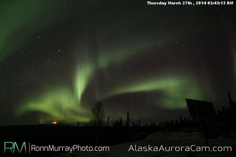 March 27th - Alaska Aurora Cam