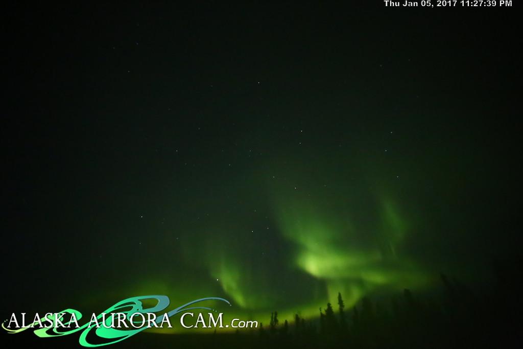 January 5th  - Alaska Aurora Cam