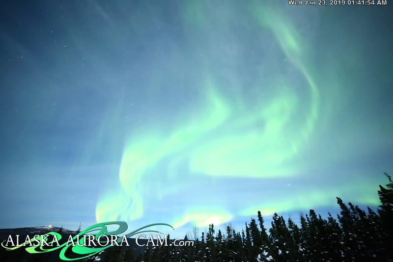 January 22nd- Alaska Aurora Cam