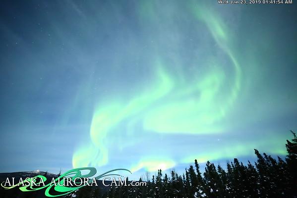 January 22nd- Alaska Aurora Cam