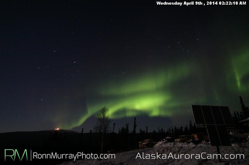 April 9th - Alaska Aurora Cam