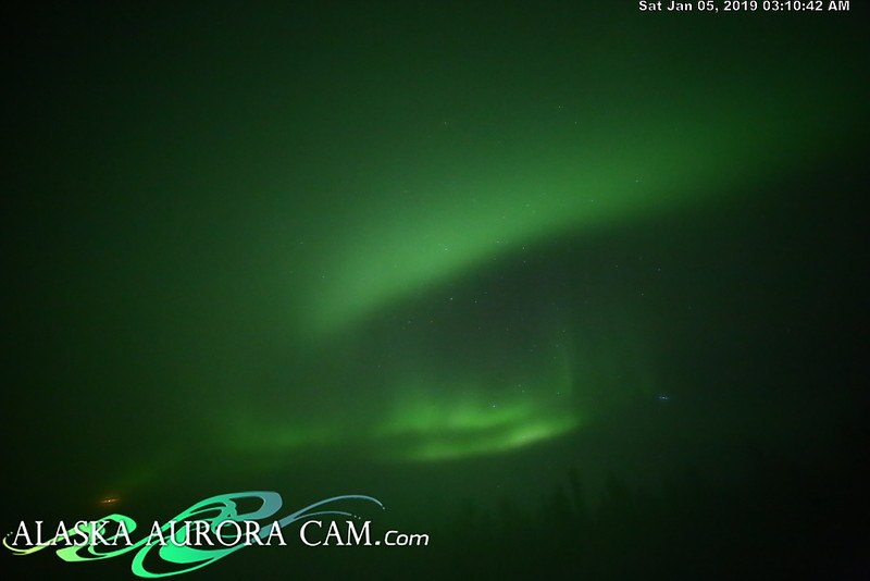 January 4th- Alaska Aurora Cam