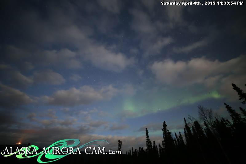 April 4th - Alaska Aurora Cam